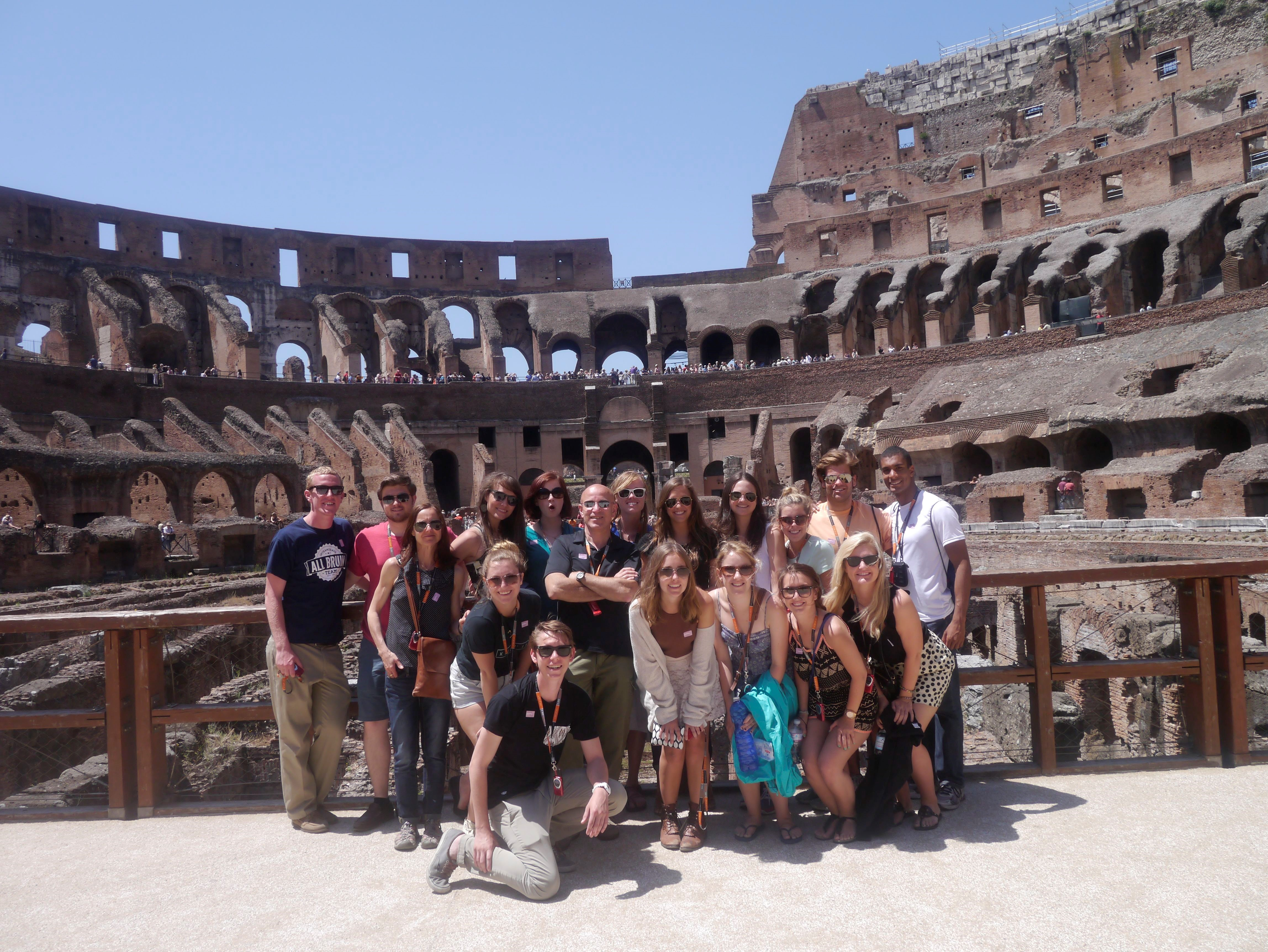 Belmont students in Italy
