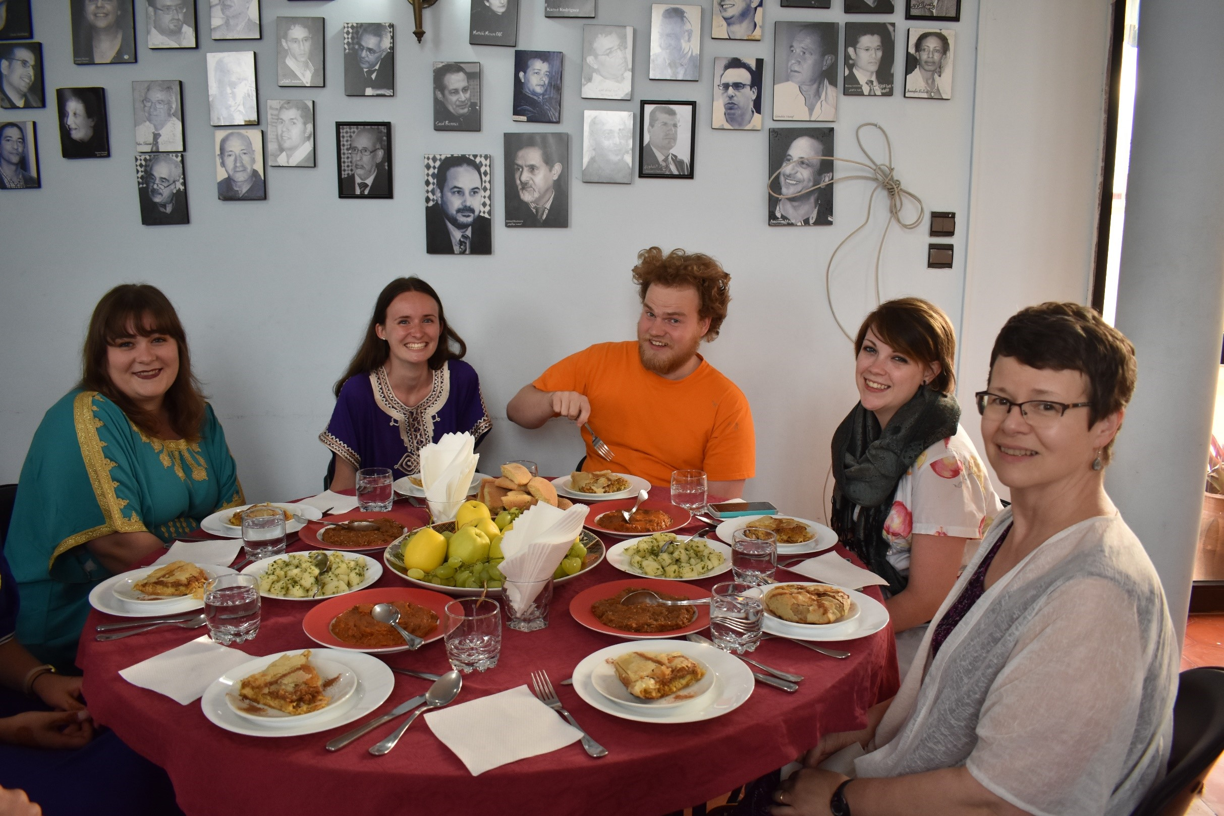 Belmont students in Morocco