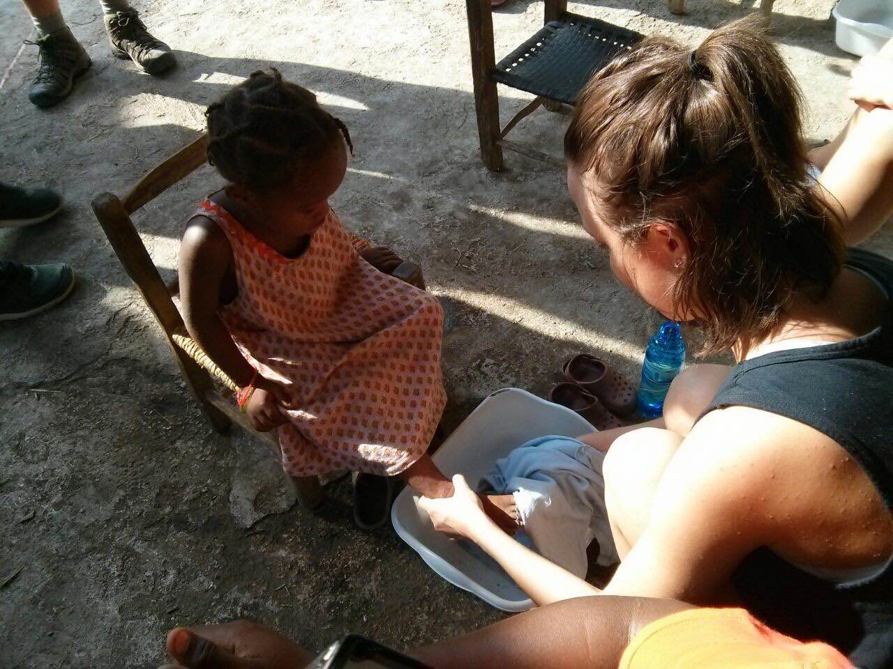 Students in Haiti & The DR