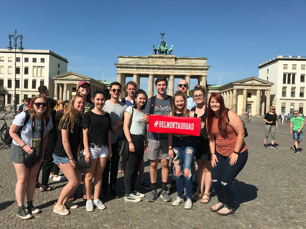 Belmont students in Germany
